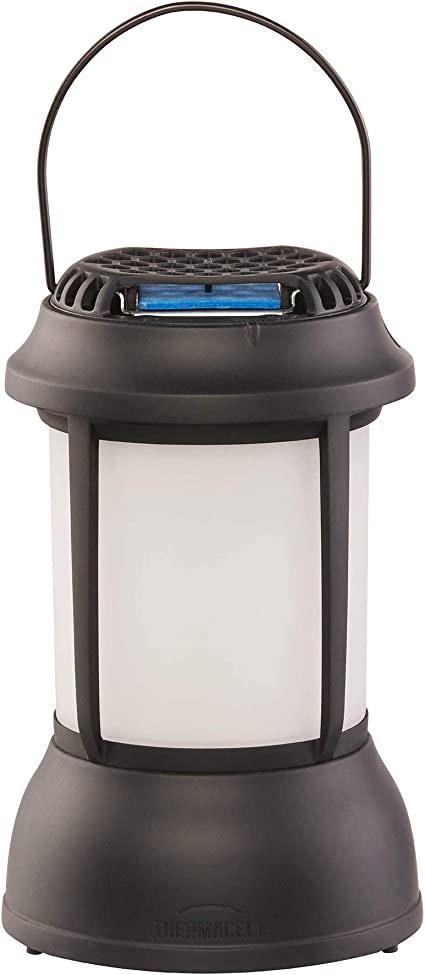 thermacell mosquito repellent patio shield lantern led light includes 12 hours of effective mosquito repellent for patios no spray deet free