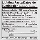 Philips 419762 Halogen 50 Watt Equivalent PAR20 Dimmable Flood Light Bulb, 4-Pack