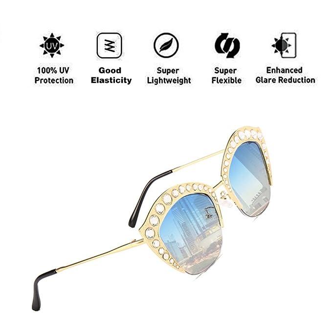 ATNKE Lip Shape Gafas de sol de gran tamaño para hombres ...