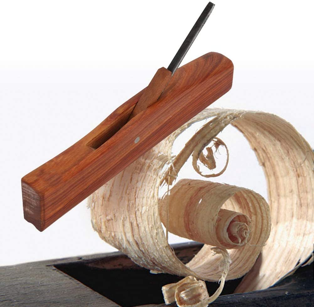 6mm Convex Hand Plane Rosewood Woodworking Carpenter Grooving Wooden Planer 6//8//16//22mm