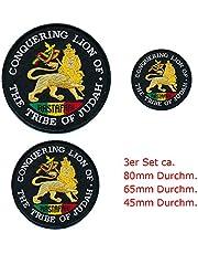 3 The Lion of Judah the tribe of judah patches applicatie opstrijkapplicator 0665