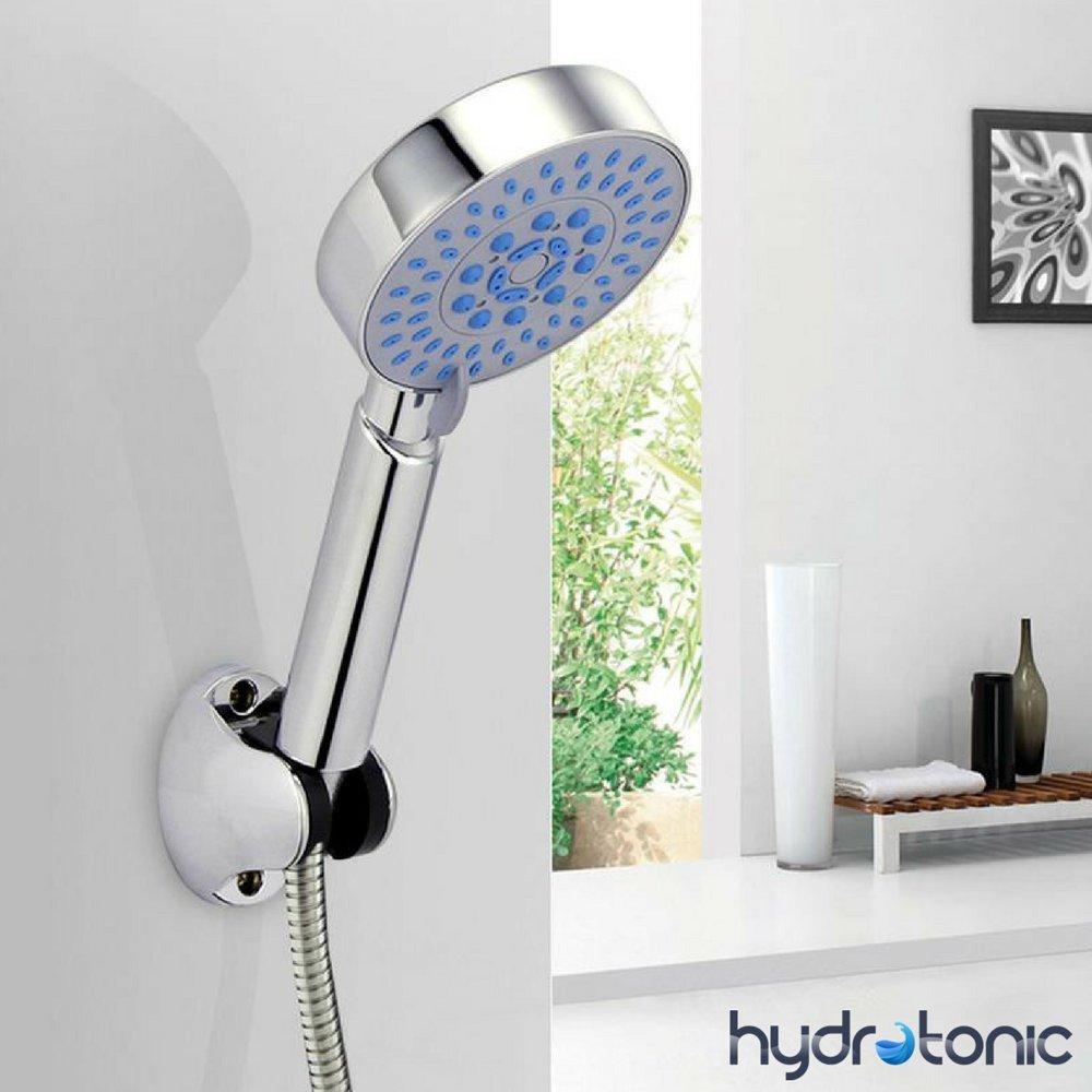 Universel HydroTonic Pommeau de douche 5 fonctions Fonction /«/éco-pluie/» pour /économie d/'eau Avec jets de massage et de relaxation Anti calcaire
