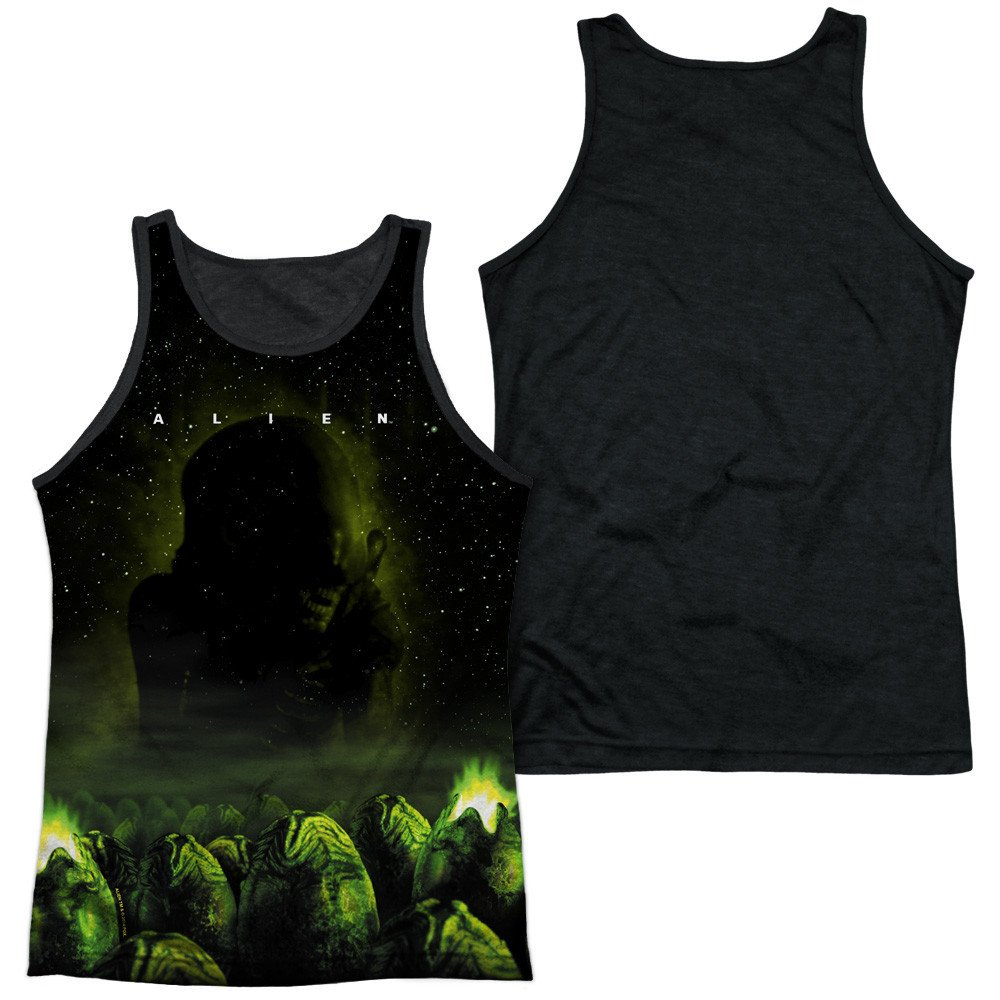 Ominous Adult Tank Top Alien