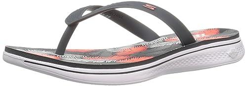 Zapatos morados Skechers H2 para mujer 4KISu5Gp