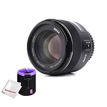 Meike MK 85 mm F/1.8 Auto Focus Full Frame Medium Telephoto Lente ...