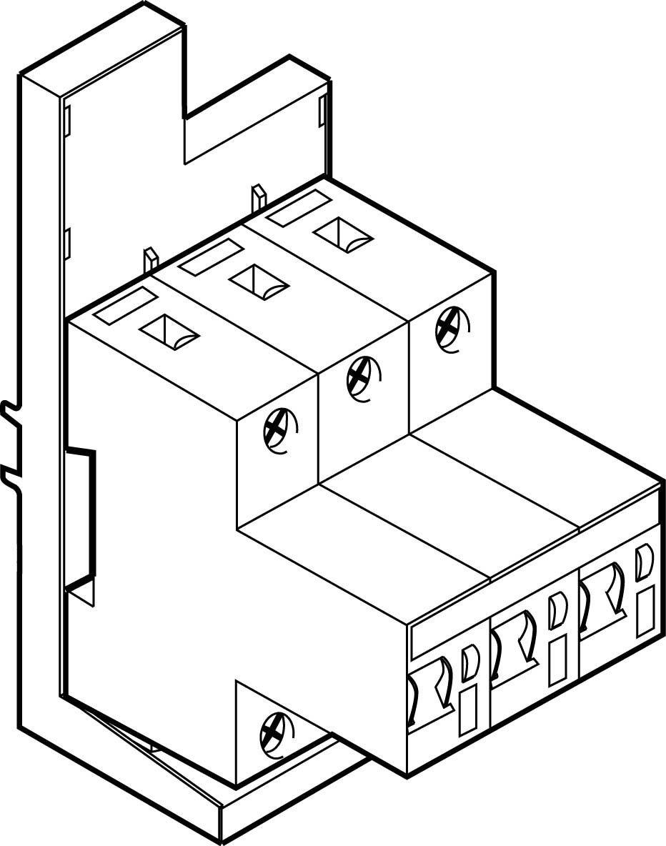 ABN SH-Schalter XKS340-6 +Adapter 3pol.40A Selektiver: Amazon.de ...