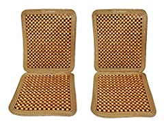 ★ The  Zone Tech Natural Beaded Seat Cushion is the ultimate solution to alleviate back pain and discomfort. Designed to attach easily to any chair, the seat Cushion provides a stress free all day comfort at work. The seat cushion is perfect ...