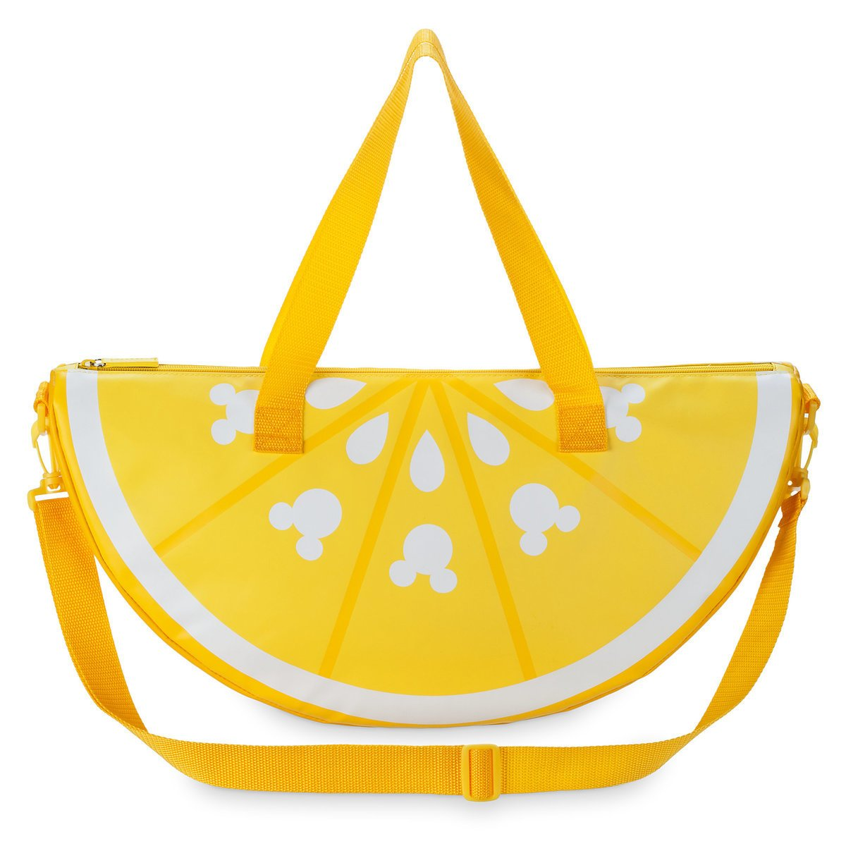 Disney Mickey Mouse Lemon Wedge Cooler Bag - Summer Fun