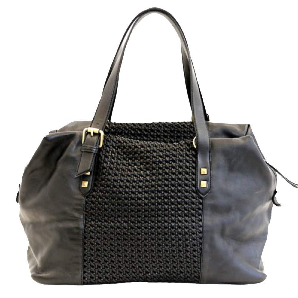 BZNA Bag Serena schwarz  Designer Damen Handtasche Ledertasche Schultertasche Tasche Leder Shopper Neu B07N3SZZKJ Schultertaschen
