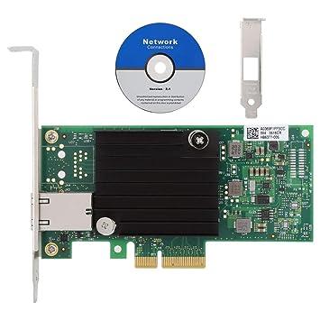 Wendry Tarjeta de Red, Tarjeta adaptadora de Red Intel X550 ...