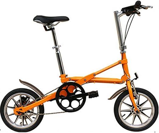 CHEZI Mountain bikeBicicleta Plegable para Adultos de una Segunda ...