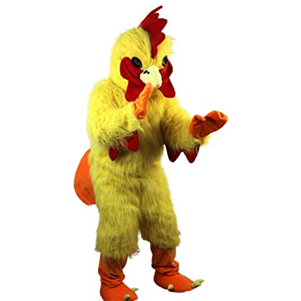 chicken Super adult costume deluxe mascot