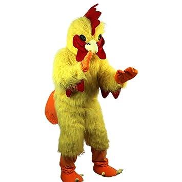 Rhubarb - Disfraz de Pollo, Color Amarillo, diseño de Mascota con ...