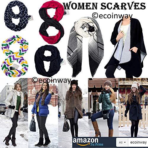 Scarf Wrap Shawl Gift Infinity - 2019 Travel Poncho Fashion