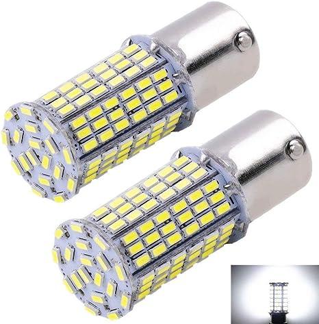 2x T10//168 RV Trailer 12V White LED Interior Reverse Bakcup 68 SMD Light Bulbs