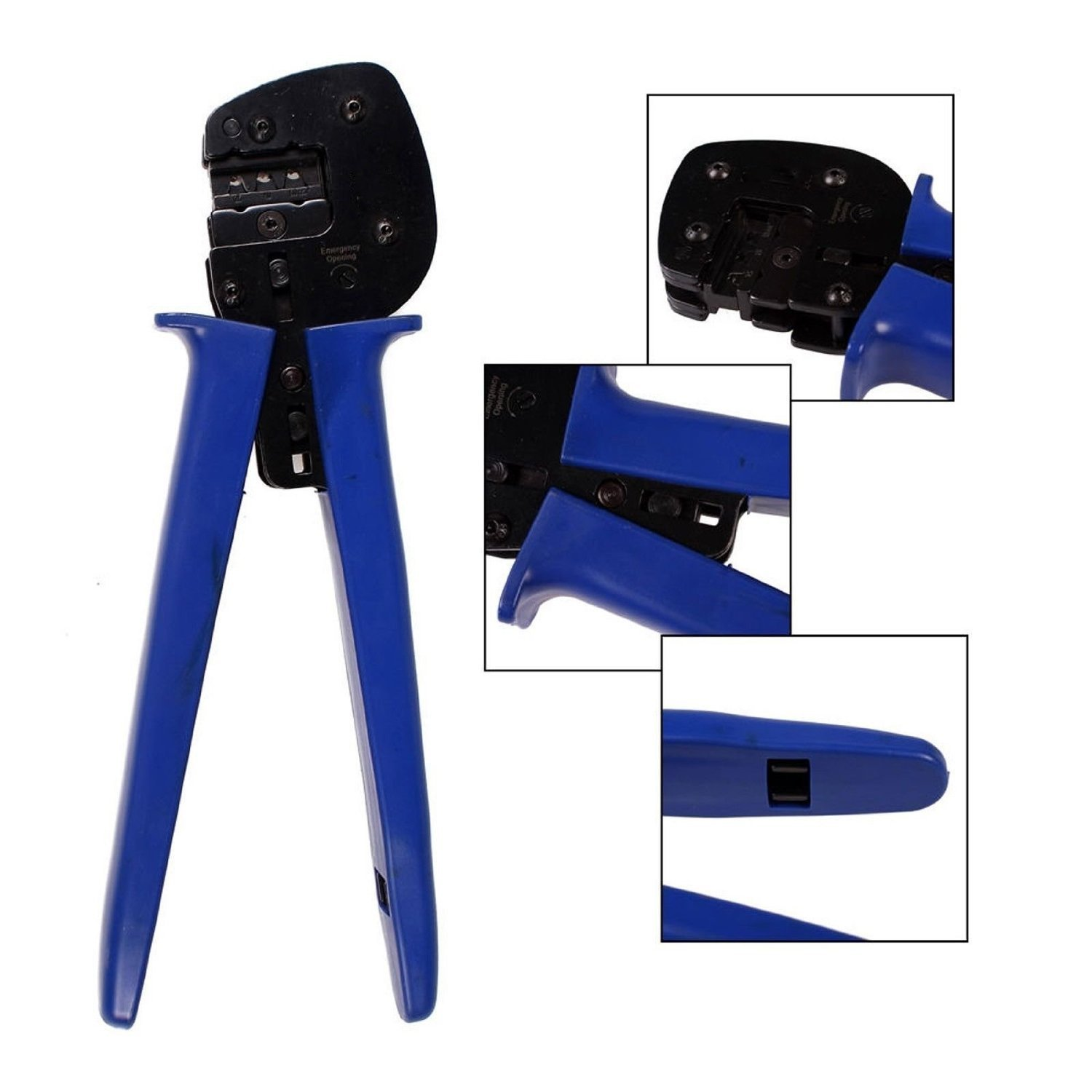 Signstek MC4 Solar Panel Cable Crimping Crimper Tool for 2.5, 4, 6.0mm² Connector Cable/Solar Panel