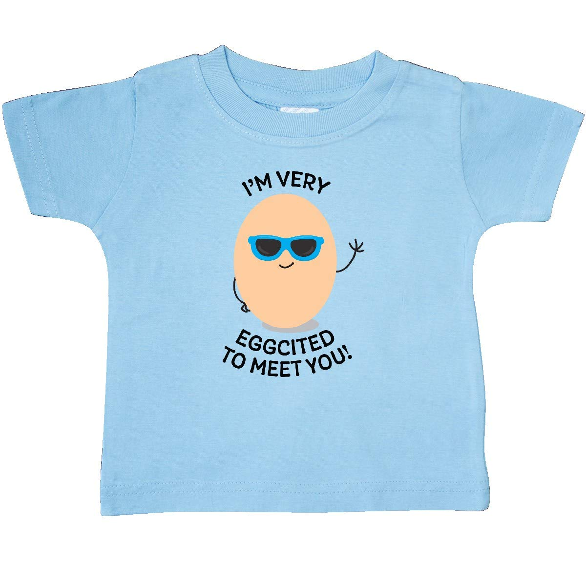 inktastic Im Very Eggcited to Meet You Baby T-Shirt