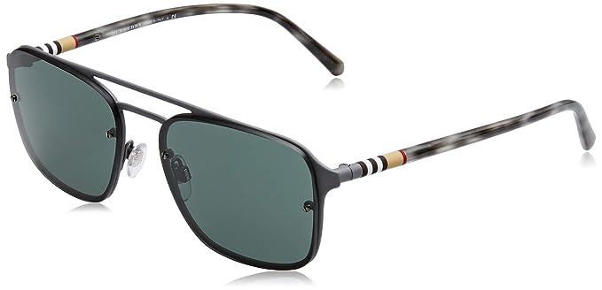 Burberry 0BE3095 12595U 56 Gafas de sol, Gris (Grey Rubber ...