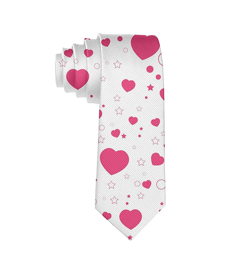 Mens Casual Valentines Day PartyTies Business Meeting Wedding Suit Necktie