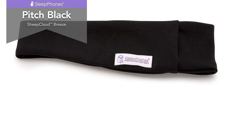 Écouteurs bandeau SleepPhones v.6 Classic Wireless Bluetooth Fleece d'AcousticSheep – Gris, Moyen/Taille unique ajustable