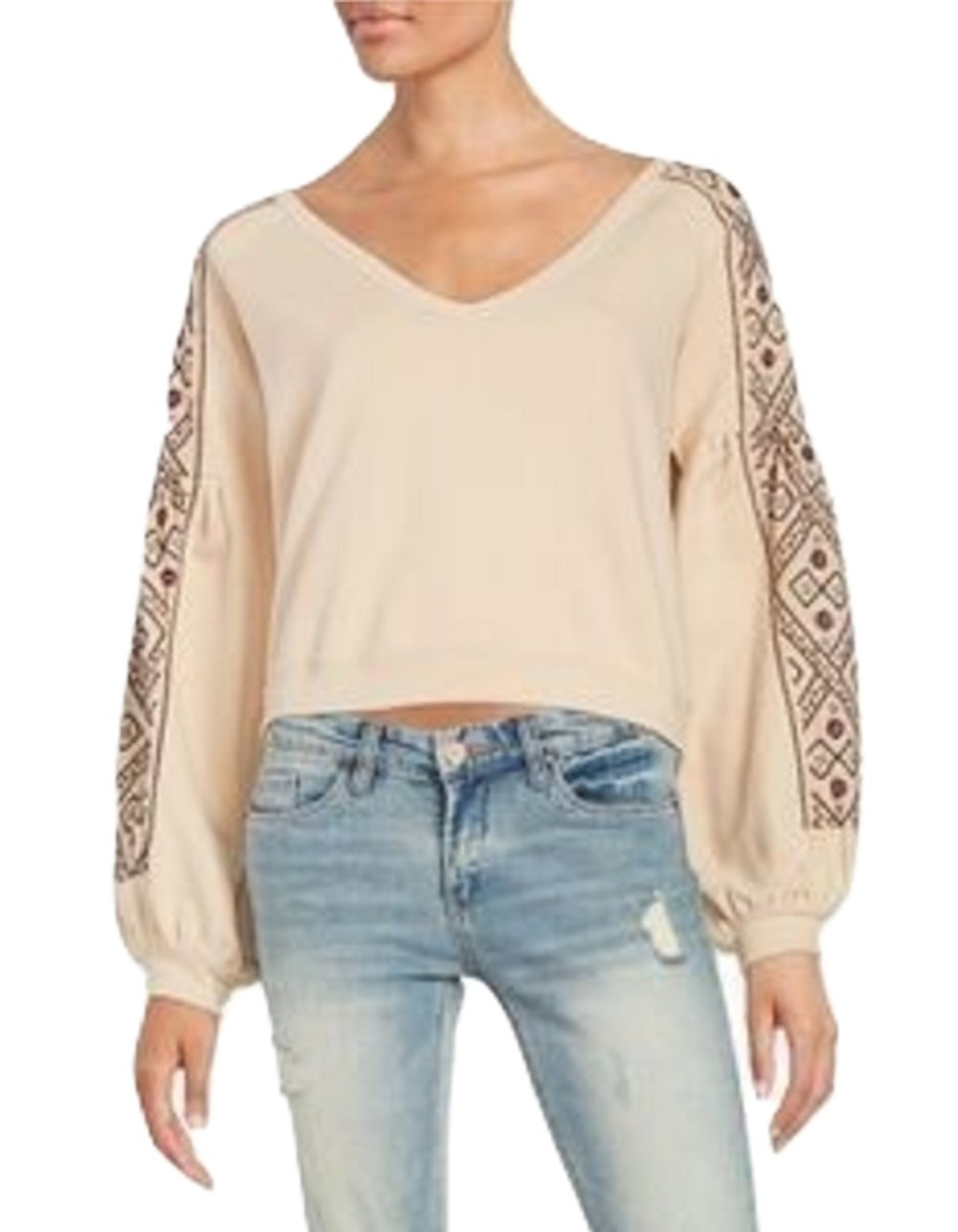 Women's Free People 'Senorita' Crop Pullover, L