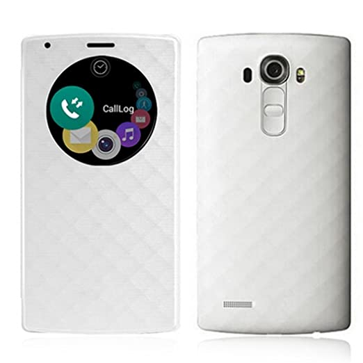 reputable site c19ca 07020 Amazon.com: LG G4 Case,GBSELL Quick Circle Cover With Qi Wireless ...