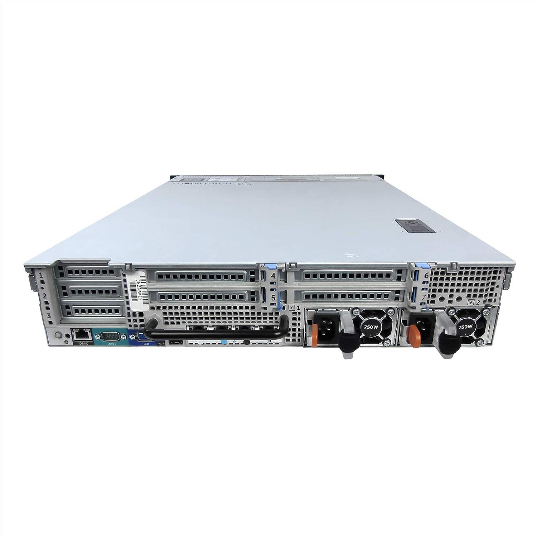 Economy Dell PowerEdge R720 Server 2.00Ghz 16-Core 192GB 2X 300GB 15K 6X 1TB Renewed