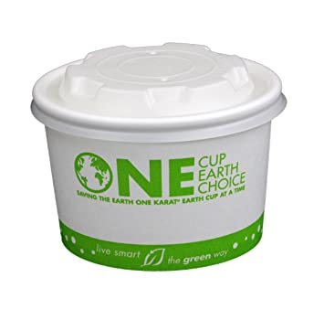Amazoncom 50 Count Eco friendly Paper Food Containers with Lids