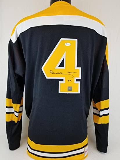 b2cb62ae6 Image Unavailable. Image not available for. Color: BOBBY ORR SIGNED  MITCHELL & NESS JERSEY GREAT NORTH ROAD JSA COA BRUINS