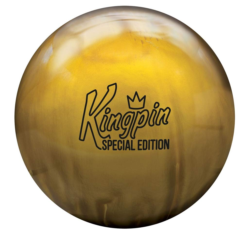 Brunswick Kingpin スペシャルエディション ボーリングボール ゴールドパール 14.0 ポンド  B07GTQBCHK, オオサキチョウ 87062848