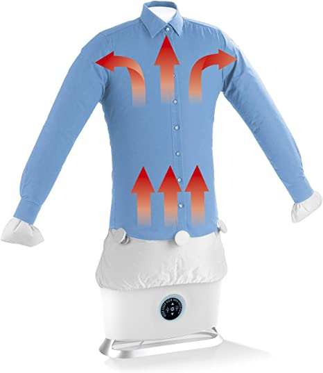 CLEANmaxx Planchadora automática de Camisas con función de Vapor | Máquina de Planchar Camisas y Blusas Totalmente automática con 2 programas de Planchado: Amazon.es: Hogar