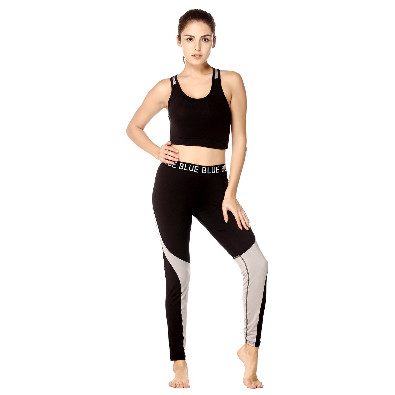 33c5162d27a91 Amazon.com: Yusano Womens Yoga Fitness Seamless Bra and Pants Leggings Set  Gym Workout Sports Wear: Clothing