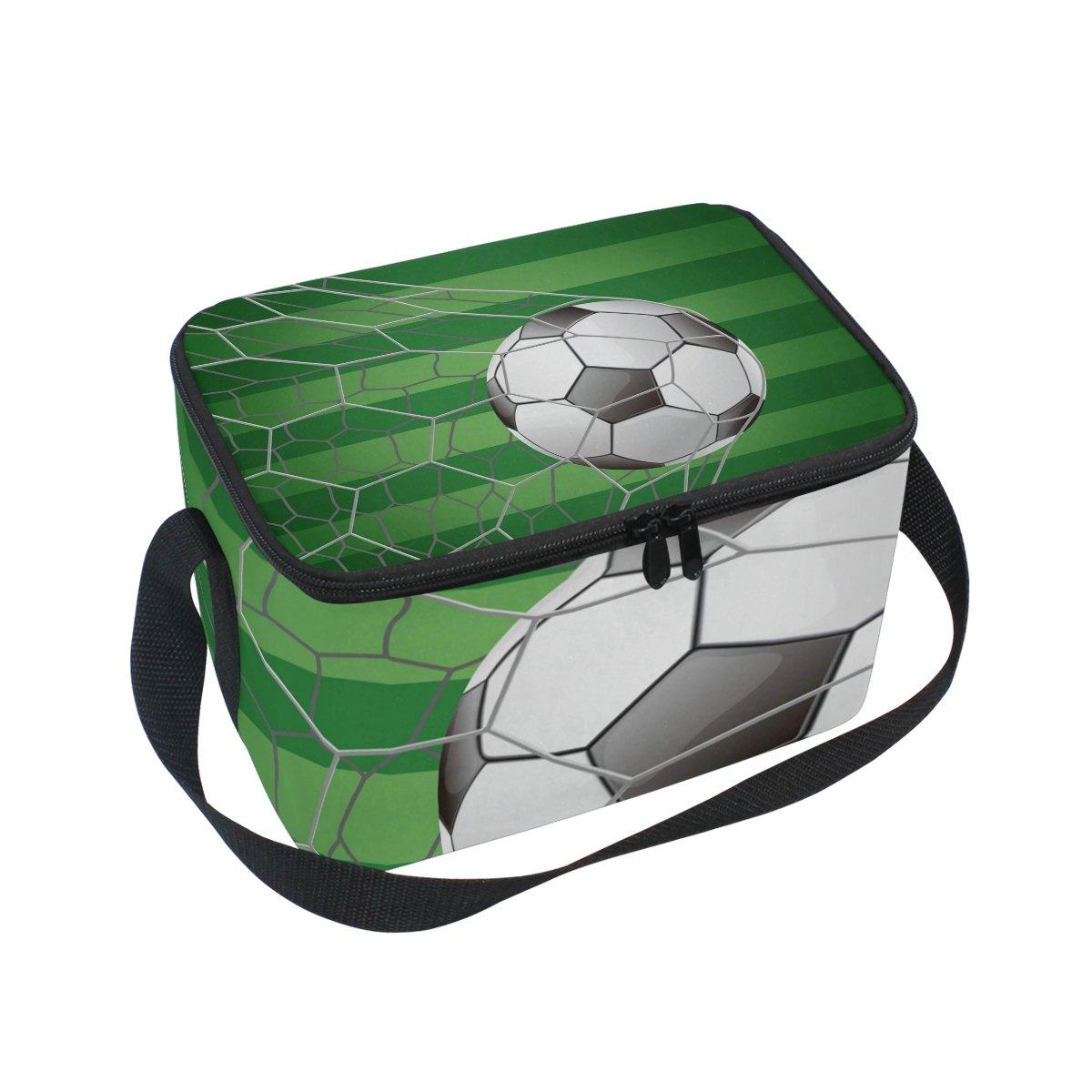 COOSUN Balón de Fútbol en Campo de Hierba Objetivo con Aislamiento ...
