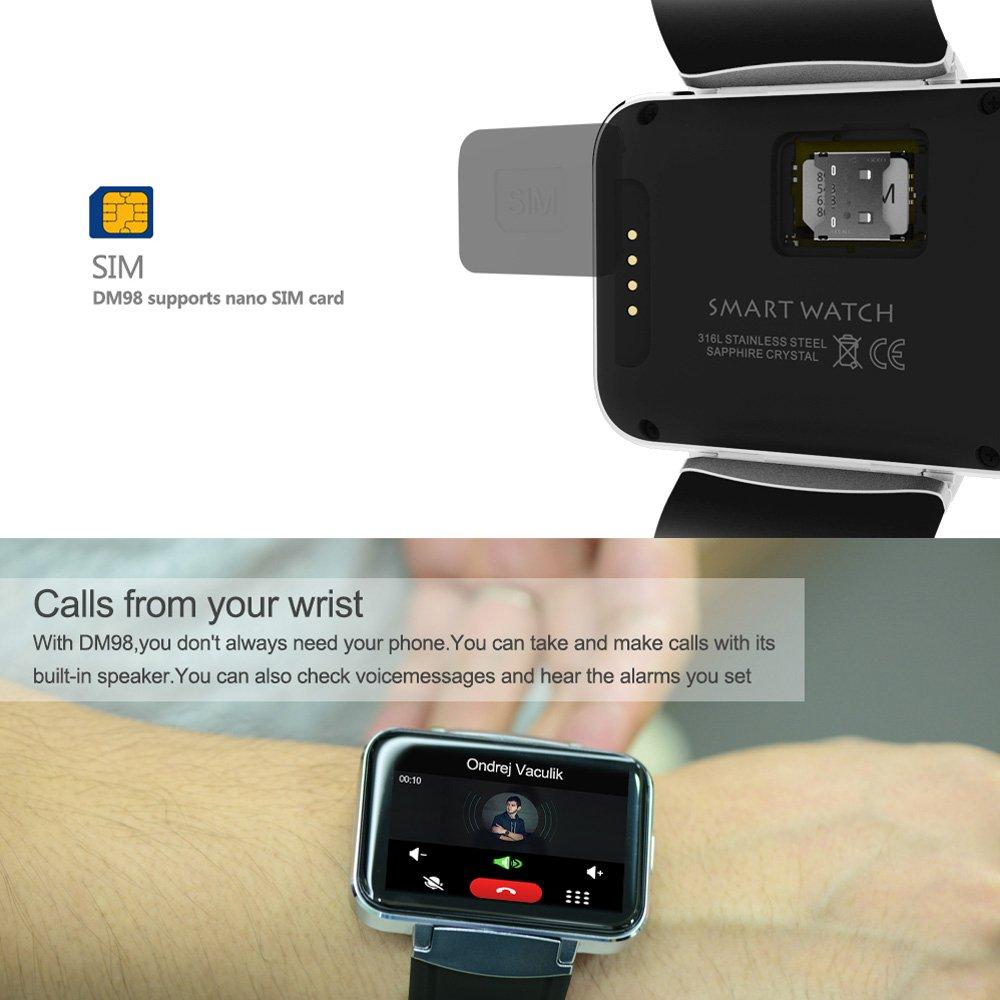 Docooler DM98 3G Smart Watch Pulsera Inteligente Teléfono ...