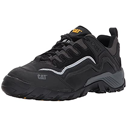 Caterpillar Men's Pursuit 2.0 Work Shoe & Knit Cap Bundle