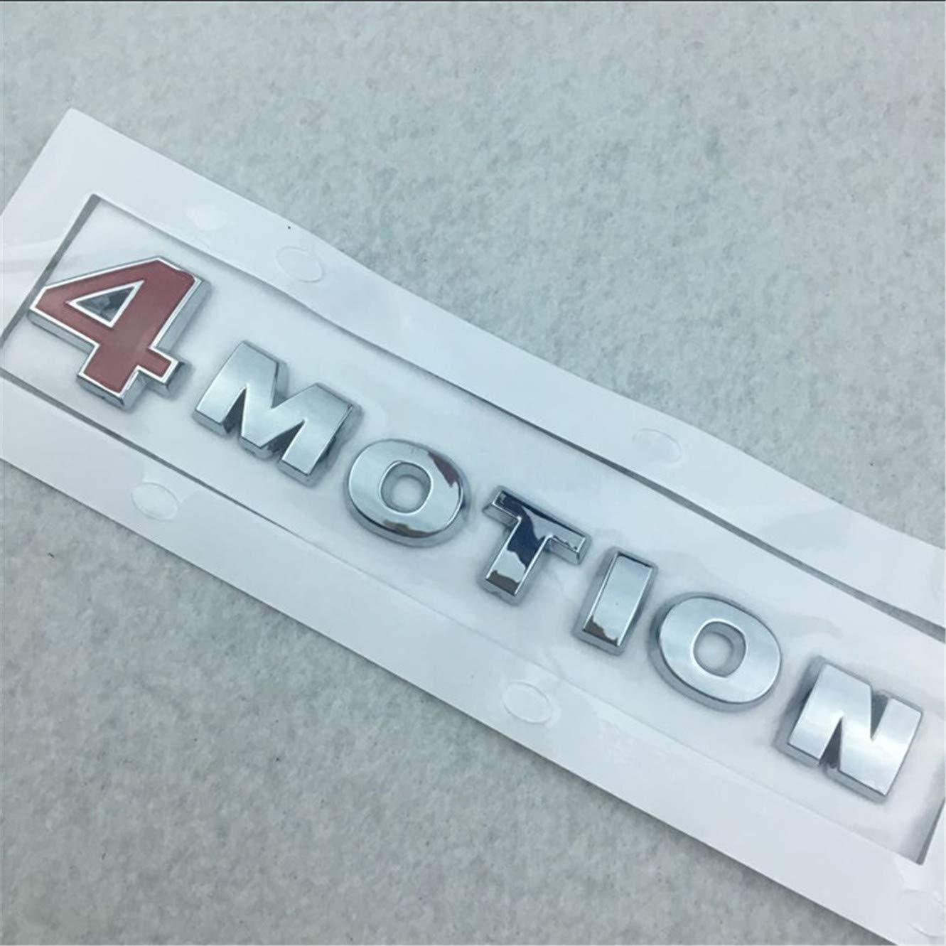 dise/ño de logotipo 4MOTION Pegatina para la parte trasera del coche