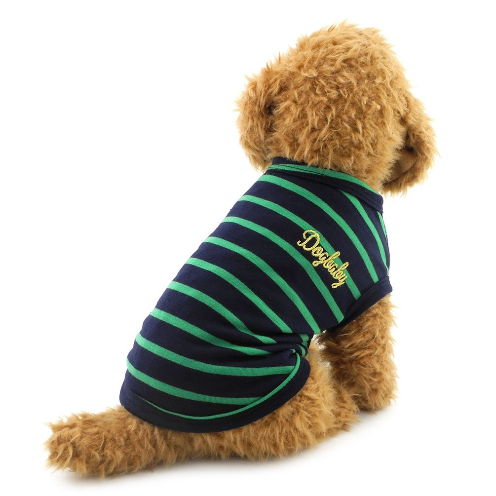 SMALLLEE_LUCKY_STORE I Love Mom Dad Sweater Jumper T-shirt Shirt Vest Small Dog Clothes Dog Puppy Costume Pink S