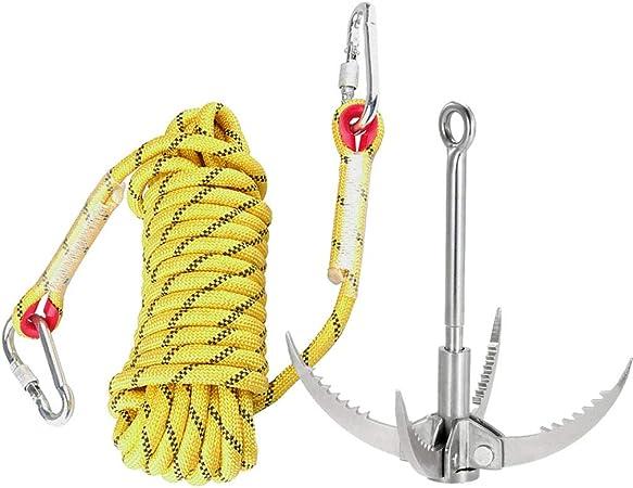 AFFC Conjunto de Escalada al Aire Libre con Cuerda de ...