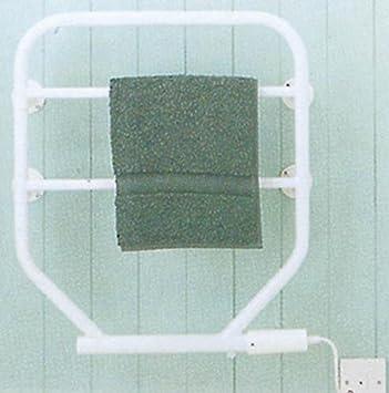 Toallero eléctrico con relleno de aceite (175 W, esmalte de estufa blanco): Amazon.es: Hogar