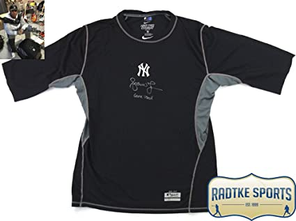 Andruw Jones Autographed Signed New York Yankees Nike Dri-Fit Game ... 81b85037ef6