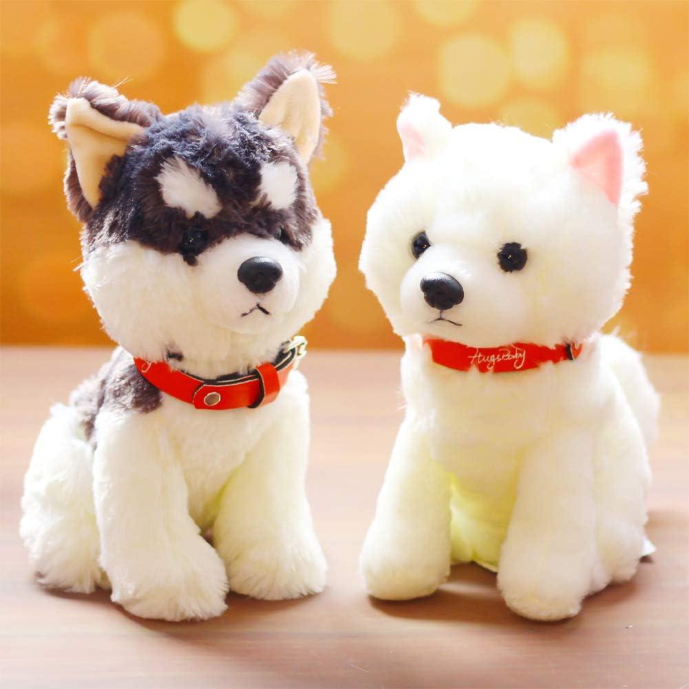 Dog Doll Puppet Plush Animal Making and DIY Craft PH PandaHall 80pcs 4 Size Flocking D-Type Safety Nose Plastic Animal Craft Nose for Bear