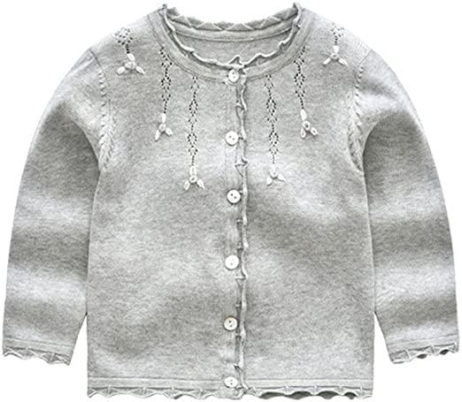 organic cotton So Cute. baby to 6 years old Designer V neck buttoned cardigan