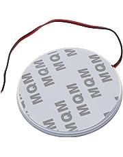 TOOGOO Lampara azul de la luz del emblema de la insignia de la insignia de la etiqueta engomada de la etiqueta engomada del coche del LED