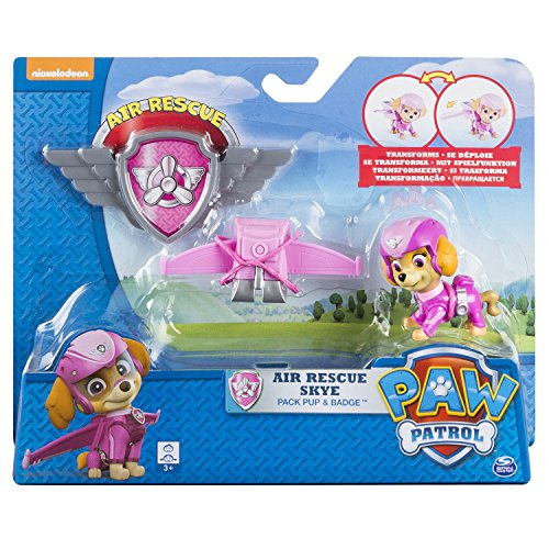 Paw Patrol Air Rescue Skye Pup Pack Amp Badge Import It All