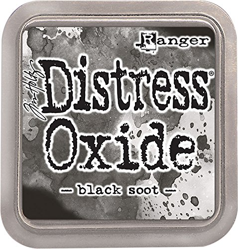 Ranger Tholtz Distress Ink Pad Oxide Black Soot