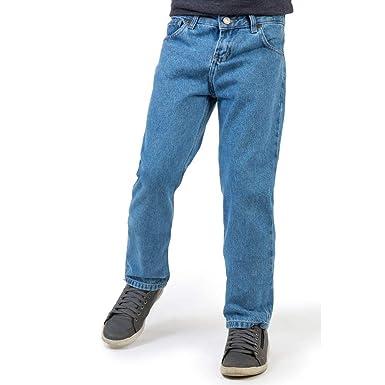 c4ca13569 Calça Jeans Reta Basic Infantil Masculino Destroyer Destroyer 10 ...