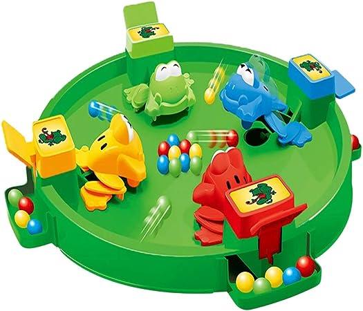 ESPLAY Juegos de Mesa para niños Ranas hambrientas Juego Familiar clásico Tragar Juego de Pelota Interacción Entre Padres e Hijos Adecuado para 2-4 Personas: Amazon.es: Hogar