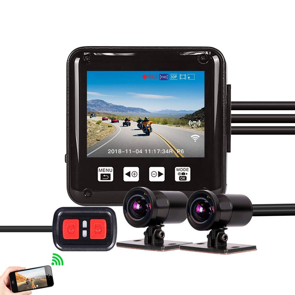 Vsysto Truck Dash Cam Waterproof Rear View Backup Camera Recorder DVR Kit 7.0 Quad Split Monitor with Front//Rear//Side 4CH Cameras Infrared Night Vision for Trailer//Bus//RV//Pickups//Camper//Van/…