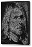 Smells Like Teen Spirit Nirvana Kurt Cobain Song Lyrics Amazing Mosaic...