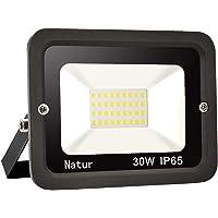 30w LED Foco exterior alto brillo Proyector led exterior de impermeable IP65,Blanco frío 6000K Iluminación led de…